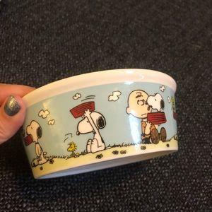 Snoopy Dog Bowl Small